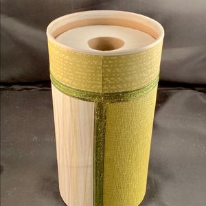 Toilet Paper Roll Cover, Holds Two Large Rolls.